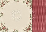 "Pion Design - To My Valentine Collection - 12""x12"" Double Sided cardstock - Roses of Love"