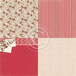 "Pion Design - To My Valentine Collection - 12""x12"" Single  Sided cardstock - 6x Love Is In The Air"