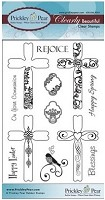 Prickley Pear - Clear Stamp - Crosses 2