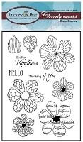 Prickley Pear Clear Stamp - Hibiscus 2