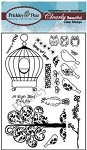 Prickley Pear Clear Stamp -Birdcage