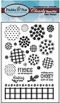 Prickley Pear Clear Stamp -Blobby Flower