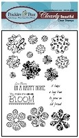 Prickley Pear Clear Stamp - Sunflowers & Mini Hibiscus