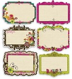 Prima Notecards - Paisley Road