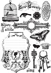 Prima-Lg Cling Mounted Stamp-Londonerry