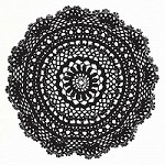 Prima - Clear Stamp - Big Doily #1