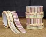 Prima - Washi & Fabric Tape - Sunrise Sunset (1 roll each)