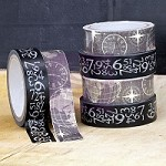 Prima - Washi & Fabric Tape - Engraver (1 roll each)