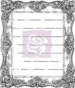 Prima - Divine Collection - Clear Stamp - Divine #1