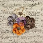 Prima - Briella Collection - Fabric Flowers - Beautiful