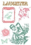 Prima Clear Stamp - Laughter