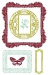 Prima Clear Stamp - Victorian Frames