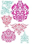 Prima Clear Stamp - Flourish