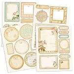 Prima - Songbird - Chipboard Stickers