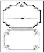 Prima - Songbird - Clear Stamp Label
