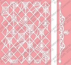 Cuttlebug Embossing Folder/Border Set - Spider Stew and Border  (A2 size)