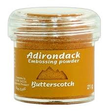 Ranger Adirondack Embossing Powders - Butterscotch (1 oz)