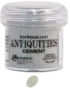 Ranger Embossing Antiquities - Cement (1 oz)