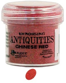 Ranger Embossing Antiquities - Chinese Red (1oz)