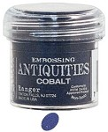Ranger Embossing Antiquities - Cobalt (1 oz)