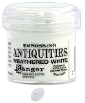 Ranger Embossing Antiquities - Weathered White (1 oz)