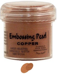Ranger Embossing Pearls - Copper Pearl (1 oz)