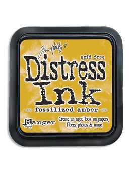 Ranger - Tim Holtz Distress Ink Pad - Fossilized Amber