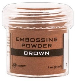 Ranger Embossing Powder - Brown (1 oz)
