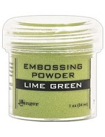 Ranger Embossing Powder - Lime Green (1 oz)
