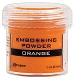 Ranger Embossing Powder - Orange (1 oz)