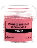 Ranger Embossing Powder - Pink (1 oz)