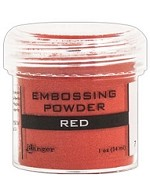 Ranger Embossing Powder - Red (1 oz)