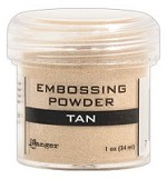 Ranger Embossing Powder - Tan (1 oz)