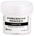 Ranger Embossing Powder - Super Fine White (1 oz)