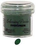 Ranger Regular Embossing Powders - Evergreen (1 oz)