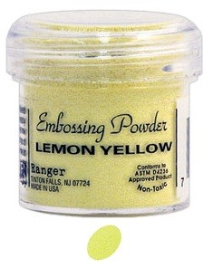 Ranger Regular Embossing Powders - Lemon Yellow (1 oz)