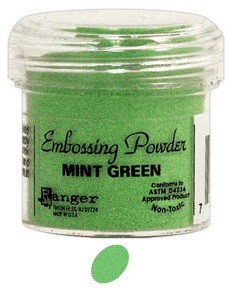 Ranger Regular Embossing Powders - Mint Green (1 oz)