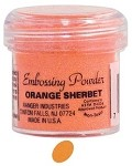 Ranger Regular Embossing Powders - Orange Sherbert