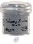 Ranger Regular Embossing Powders - Silver (1 oz)
