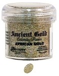 Ranger Ancient Golds Embossing Powders - African Gold (1 oz)