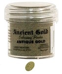 Ranger Ancient Golds Embossing Powders - Antique Gold (1 oz)
