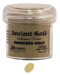 Ranger Ancient Golds Embossing Powders - Princess Gold (1 oz)