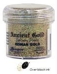 Ranger Ancient Golds Embossing Powders - Roman Gold (1 oz)