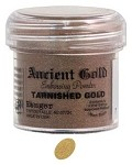 Ranger Ancient Golds Embossing Powders - Tarnished Gold (1 oz)