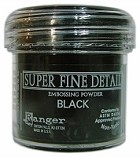 Ranger - Super Fine Embossing Powders (1 oz) - Black