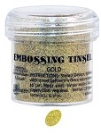 Ranger Tinsel Embossing Powders - Gold Tinsel (1 oz)