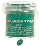 Ranger Tinsel Embossing Powders - Green Tinsel (1 oz)