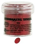 Ranger Tinsel Embossing Powders - Red Tinsel (1 oz)