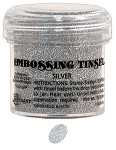 Ranger Tinsel Embossing Powders - Silver Tinsel (1 oz)