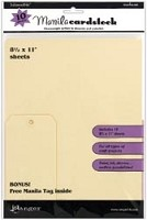 "Ranger Inkssentials - 8.5""x 11"" Manilla Cardstock (10 sheets per package)"